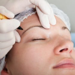 Aftercare for microbladed brows